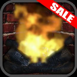 Relaxing & Romantic Virtual Fireplace App