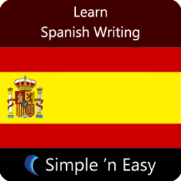Learn Spanish Writing by WAGmob