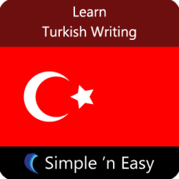 Learn Turkish Writing by WAGmob