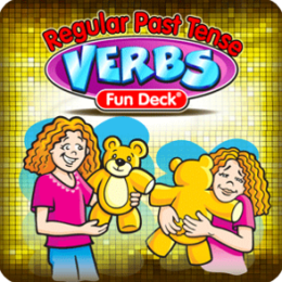 Regular Past Tense Verbs Fun Deck