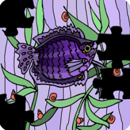 Puzzle Mania Fish Art