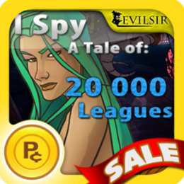 I Spy a Tale of 20k Leagues Under the Sea - Hidden Objects