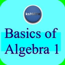 Basics Of Algebra 1