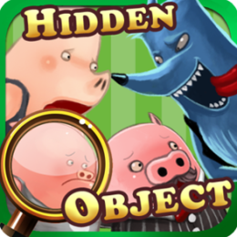 Hidden Object - Three Little Pigs