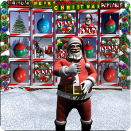 Santa's 3D Christmas Slot machine