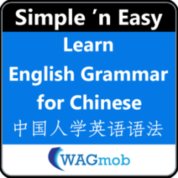 Learn English Grammar for Chinese by WAGmob