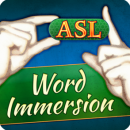 ASL Word Immersion - Learn American Sign Language With Video Flashcards by Selectsoft