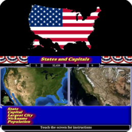 States and Capitals - HD