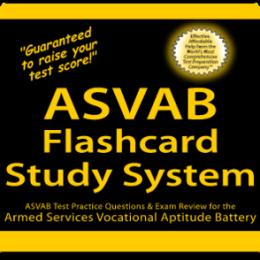 ASVAB Flashcard Study System