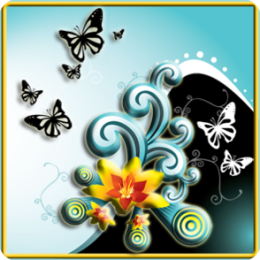 Butterfly Splash Live Wallpaper