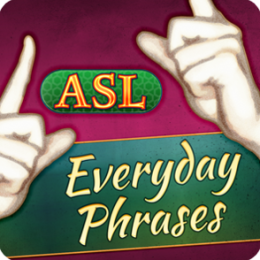 ASL Everyday Phrases - Learn American Sign Language With Video Flashcards by Selectsoft