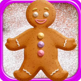 A Gingerbread Cookie : Make & Bake!