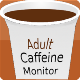 Caffeine Monitor for Adults HD