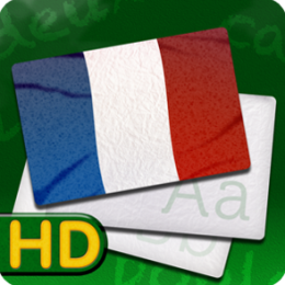 French Flash Card Fun HD