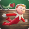 Slide-n-Glide- Elf on the Shelf - Christmas Game