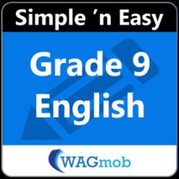 Grade 9 English by WAGmob