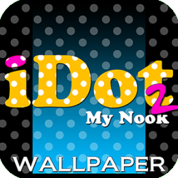iDot My Nook 2! - Polka Dot Wallaper, Backgrounds, & Designs