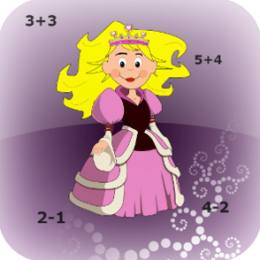Princess Abby Learns Math