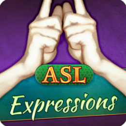 ASL Expressions - Learn American Sign Language With Video Flashcards by Selectsoft