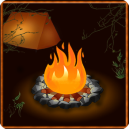 Campfire HD Live Wallpaper