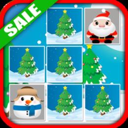 Christmas Memory Match Game Holiday Kids App