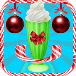 Holiday Milkshake Maker Game - Best Christmas Cooking Game for Kids, Girls, Boys
