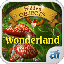 Hidden Objects Wonderland & 3 puzzle games