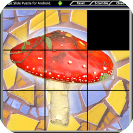 Magic Slide Puzzle - Mushrooms 2
