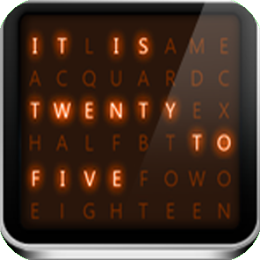 Word Clock: Alarm, Weather, News, and Flashlight