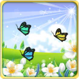 Butterfly Fields Live Wallpaper