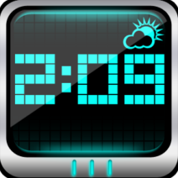 Digital World Weather Alarm Clock