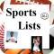 Lists for Sports Lovers