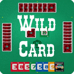 Wild Card - a Game of Chance and Strategy and relative of Crazy Eights, Uno and Mau Mau