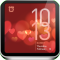 Valentine's Day Clock - Beautiful Animations, Alarm, Weather, News, & Flashlight
