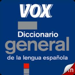 VOX Diccionario de la Lengua Española