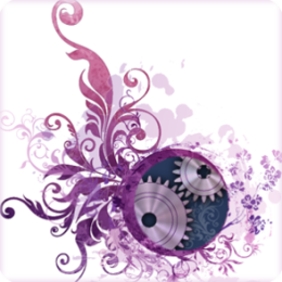 Indigo Gears HD Live Wallpaper