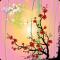 Sakura Sunrise HD Live Wallpaper