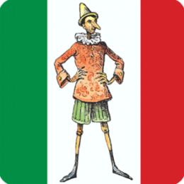 Learn Italian with Pinocchio