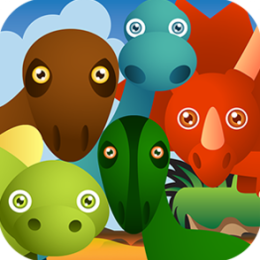 Dino Race - endless Jurassic dinosaur fun!