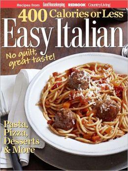 400 Calories or Less - Easy Italian