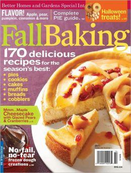 Fall Baking 2011