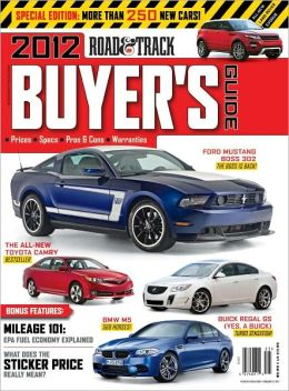 Road & Track - Buyer's Guide 2012