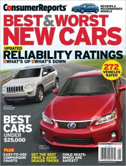 Consumer Reports - Best and Worst New Cars 2012