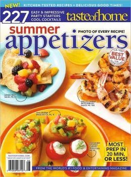 Taste of Home Summer Appetizers