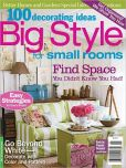 Book Cover Image. Title: 100 Ideas Big Style for Small Rooms, Author: Meredith Corporation