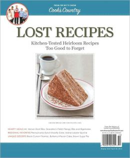 Cook's Country's Lost Recipes
