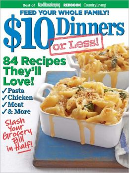 $10 Dinners (or less!)