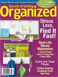 Book Cover Image. Title: Secrets of Getting Organized 2012, Author: Meredith Corporation