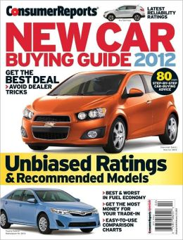 Consumer Reports' New Car Buying Guide 2012