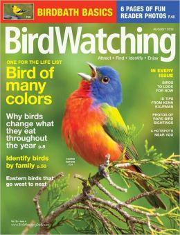 Birdwatching - August 2012